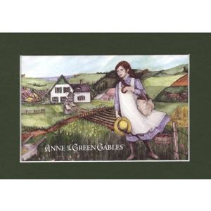 """Anne of the Island 5x7"" Matted Print Anne of green gables"