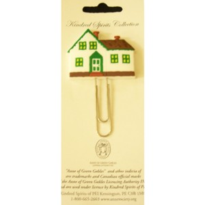 Green Gables PVC Bookmark