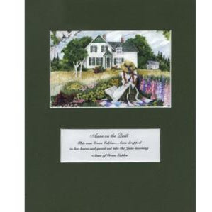 Anne on the Quilt 8x10 Matte Print Anne of Green Gables