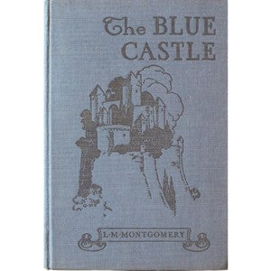 First Edition Blue Castle Postcard