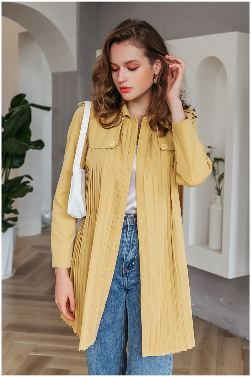 Trench vintage court