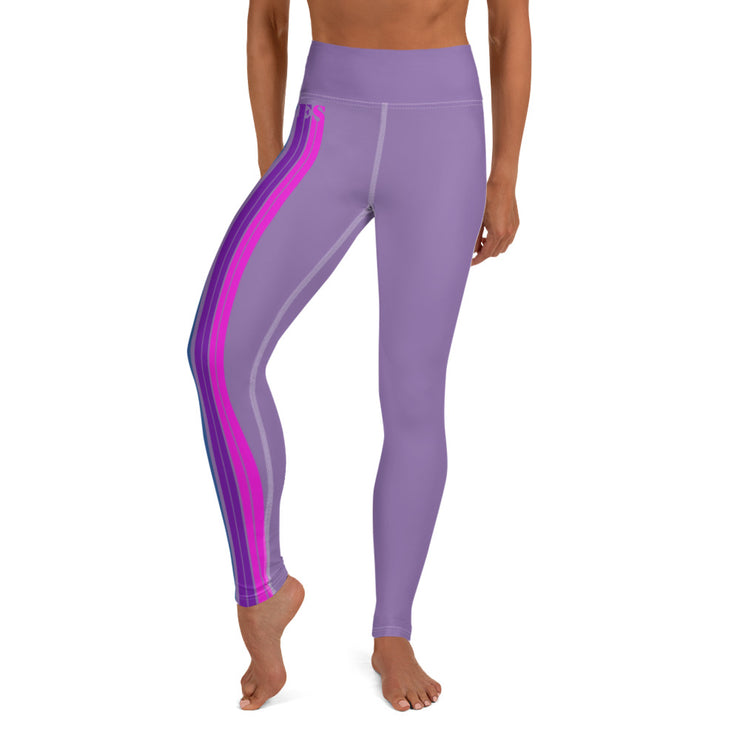 Flow on purple Leggings