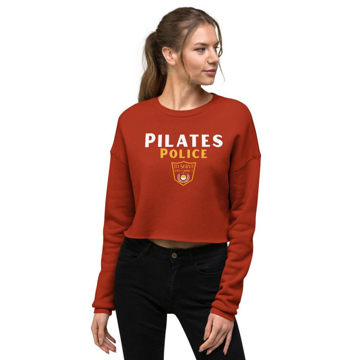 Pilates Police Crop Sweatshirt - Pilateskatt