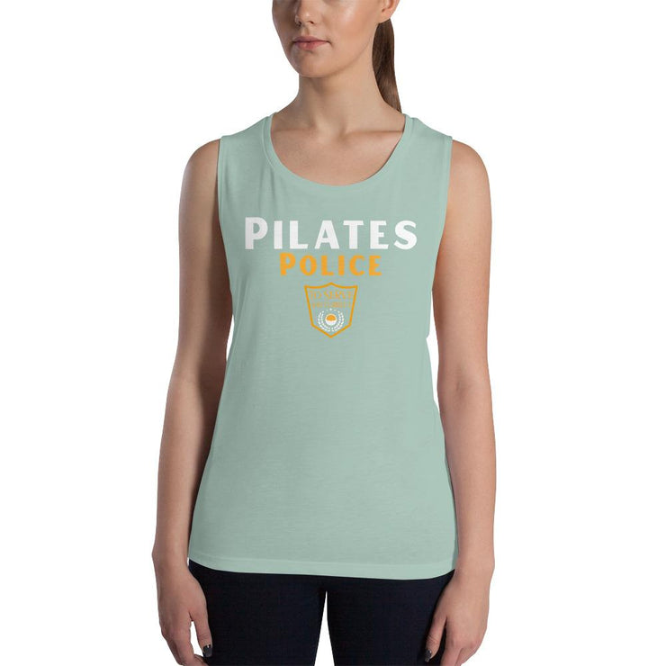 Pilates Police Ladies' Muscle Tank - Pilateskatt