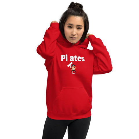 Pirates, no Pilates Unisex Hoodie - Pilateskatt