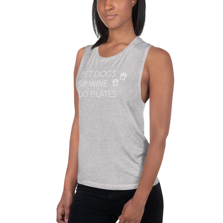 Sip wine Muscle Tank