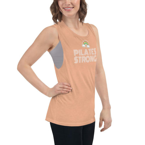 Pilates strong Ladies' Muscle Tank - Pilateskatt