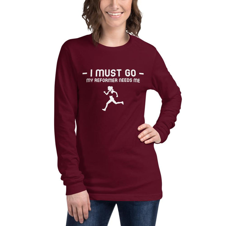 I must go Unisex Long Sleeve Tee - Pilateskatt