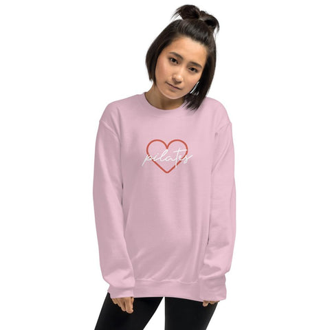 Heart Pilates Unisex Sweatshirt - Pilateskatt