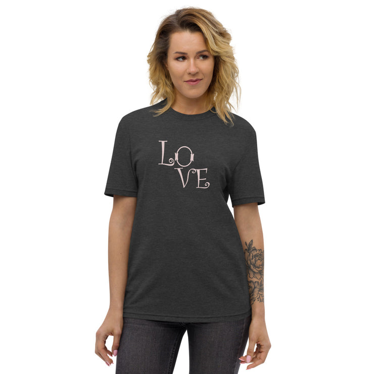 Love Unisex recycled t-shirt
