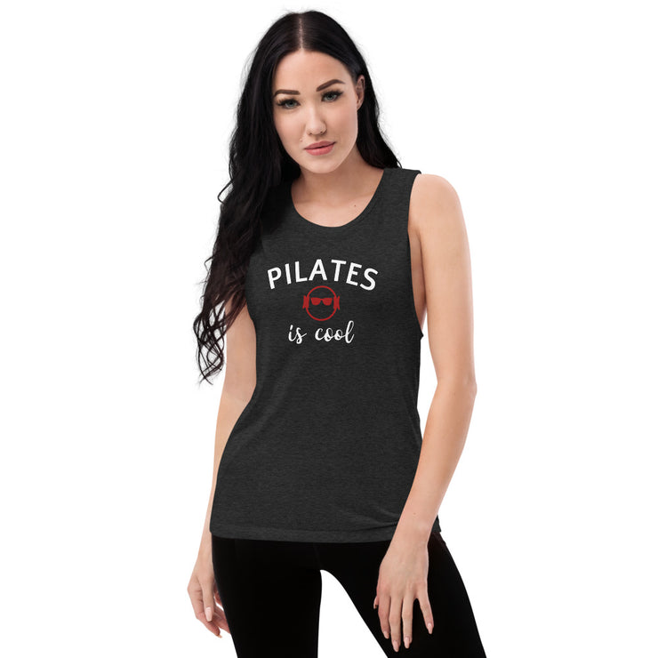 Pilates is cool Muscle Tank
