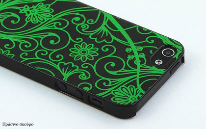 Θήκη Back case iGlow για iPhone 5/5S - Translucent Glow in the Dark Back Case for iPhone 5/5S GL-3362 - afasia.gr