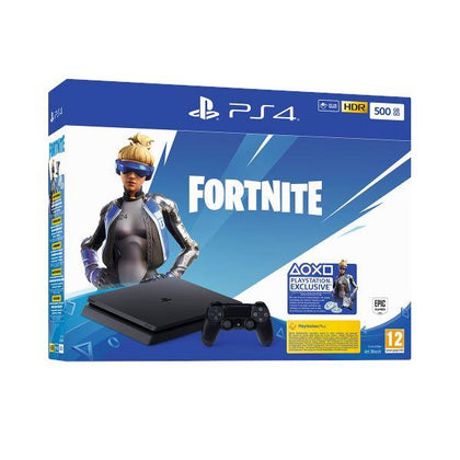 Sony Playstation 4 Slim 500GB + Fortnite voucher 2019 GL-54814 - afasia.gr