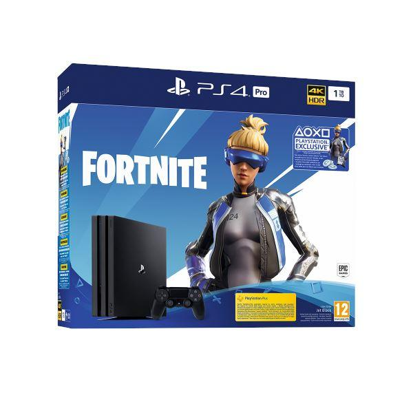 Sony Playstation 4 Pro 1TB + Fortnite voucher 2019 GL-54815