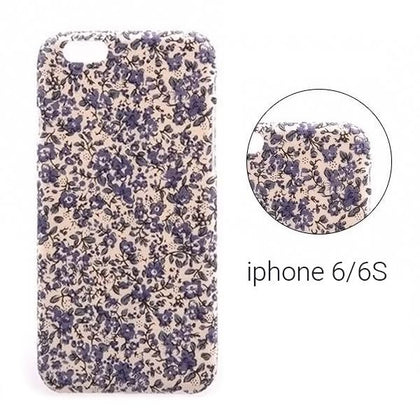Backcase θήκη με Floral μοτίβο για iPhone 6/6S - 7540 GL-24523 - afasia.gr