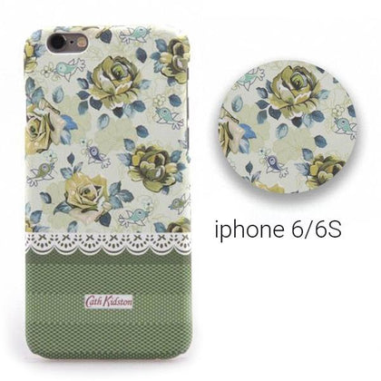 Backcase θήκη με Green Floral μοτίβο για iPhone 6/6S - 7338 GL-24598 - afasia.gr