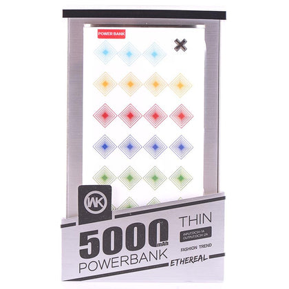 Power bank 5000mAh - WK Rhombus GL-25393 - afasia.gr