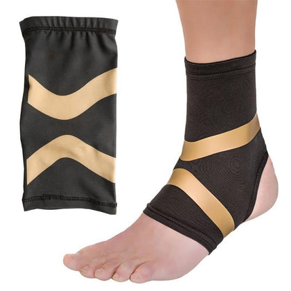 Επιστραγαλίδα ελαστική - Copper Fit Compression Ankle Sleeve GL-31966 - afasia.gr
