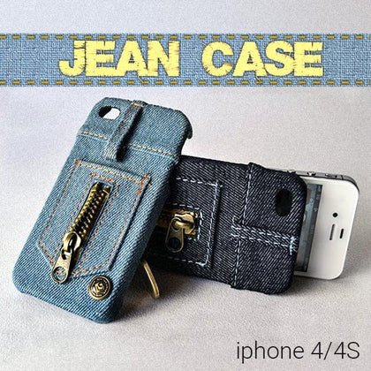 Back case θήκη σε στυλ ξεβαμμένου Jean για iPhone 4/4S - Jean Back Case for iPhone 4/4S GL-3381 - afasia.gr