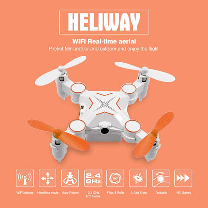 Quadcopter FPV Heliway 901S / WiFi / Camera 0.3MP GL-51078 - afasia.gr