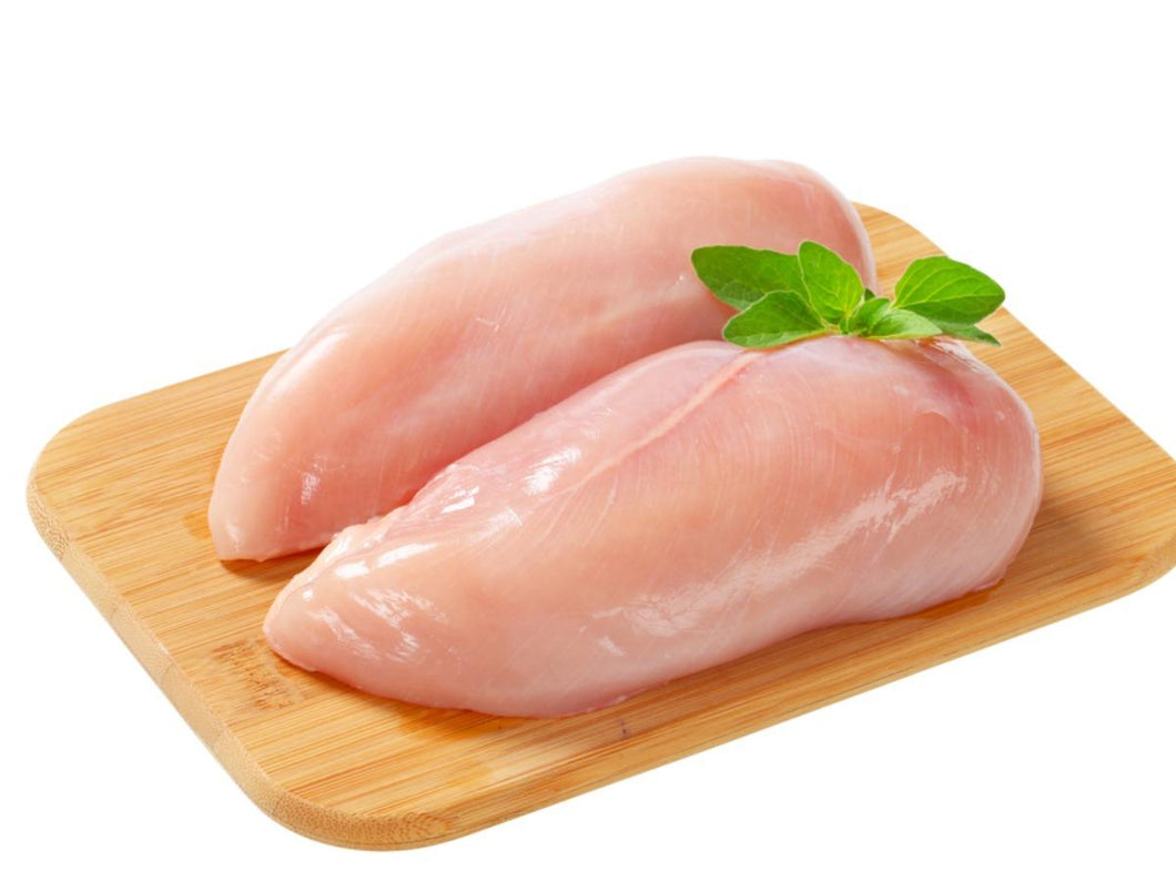 Skinless chicken breast  Trimed and cleaned 1 kg