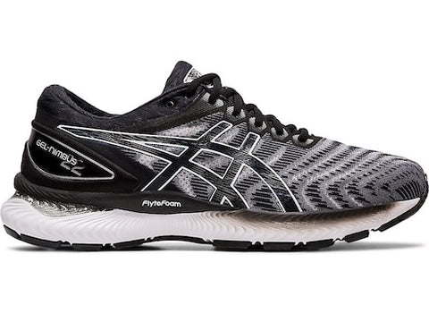 Asics M Gel Nimbus 22 (2E) (White/Black)