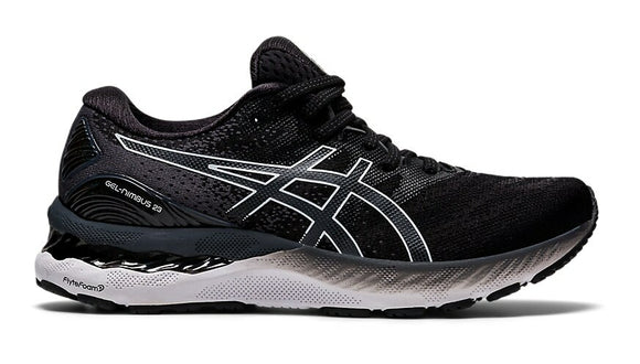 Asics M Gel-Nimbus 23 (2E) (Black/White)