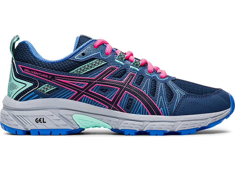 Asics Gel Venture 7 GS (Peacoat/Hot Pink)