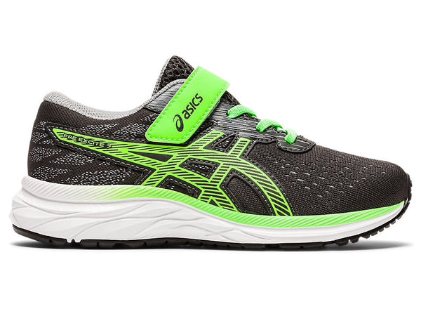 Asics Pre Excite 7 PS (Graphite Grey/Green Gecko)