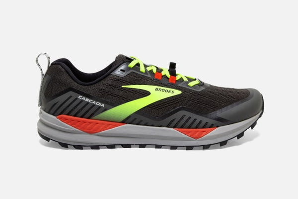 Brooks M cascadia 15 (Black/Raven/Cherry Tomatoe)