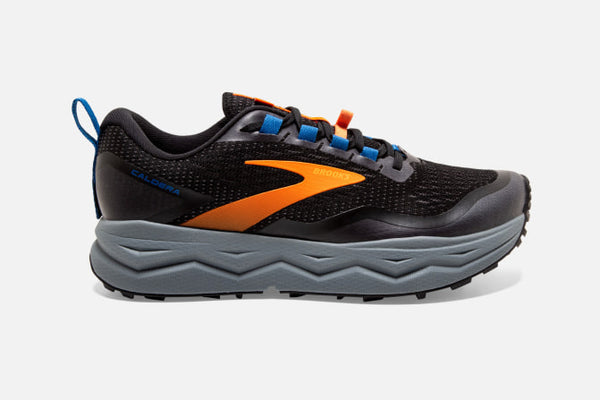 Brooks M Caldera 5 (Black/Orange/Blue)