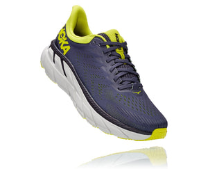 Hoka One One M Clifton 7  (Odyssey Grey/Evening Primrose)