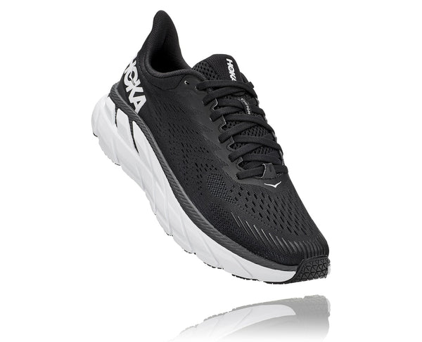 Hoka One One W Clifton 7 (Black/White)