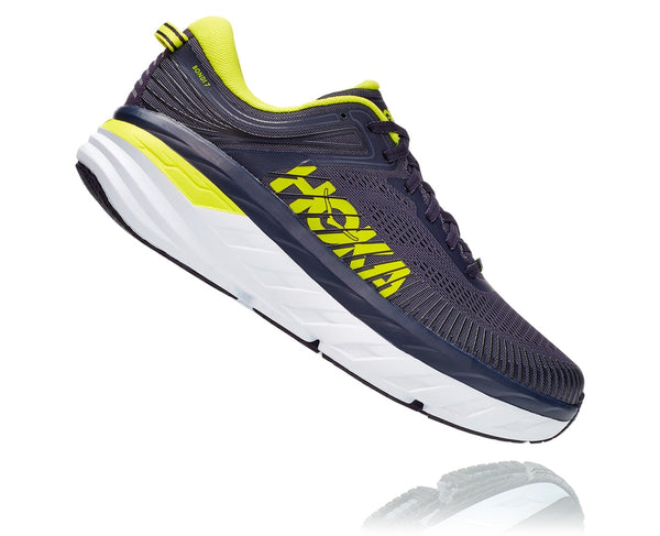 Hoka One One M Bondi 7 (Odyssey Grey/Deep Well)