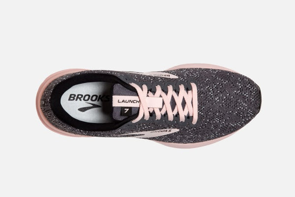 Brooks W Launch 7 (Black/Pearl/Violet)