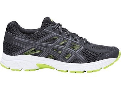 Asics Gel-Contend 4 GS (Black/Neon Lime)