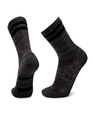 Le Bent Le Sock Trail Lightweight 3/4 Crew (Black Marle)