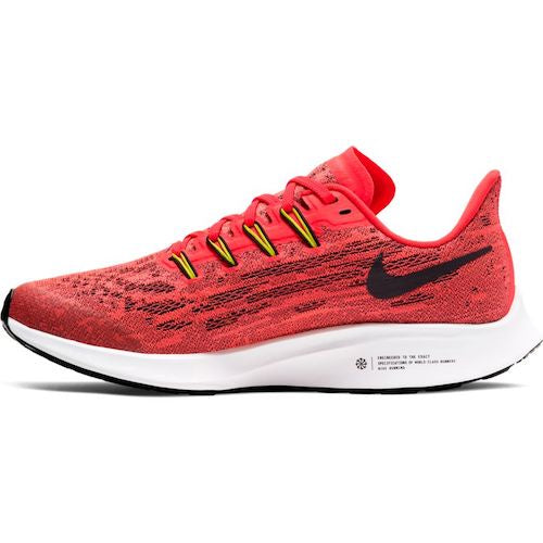 Nike Air Zoom Pegasus 36 GS (Laser Crimson Black)