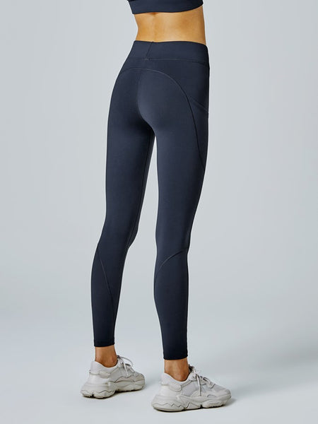 Running Bare Thermal Tech Ab-Waist F/L Tight (Crew)