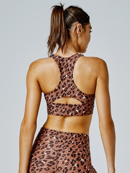 Running Bare Fire Start Sports Bra (Dua Lipa)