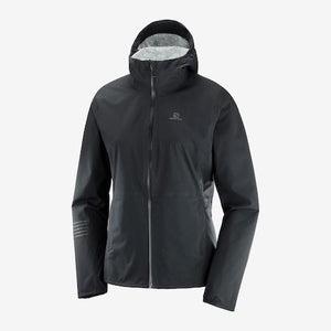Salomon W Lightning Waterproof Jacket (Black)