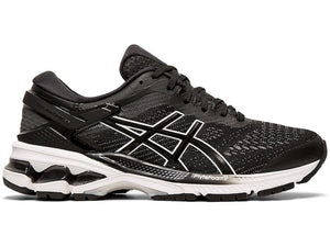 Asics W Gel Kayano 26 (Black/White)