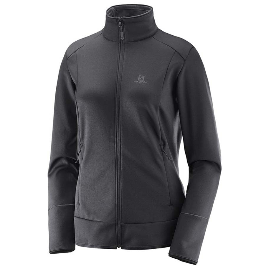 Salomon W Discovery Full Zip (Black)