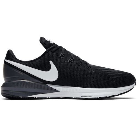 Nike M Air Zoom Structure 22 (Black/White/Gridiron)