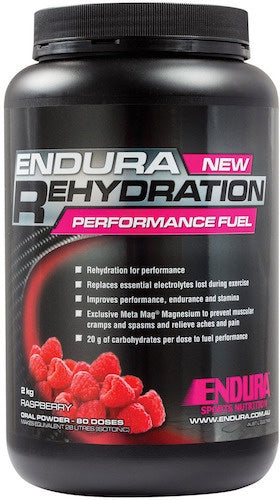 Endura Rehydration Performance Fuel (Raspberry)