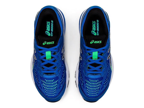 Asics GT 2000 8 GS (Electric Blue/Black)
