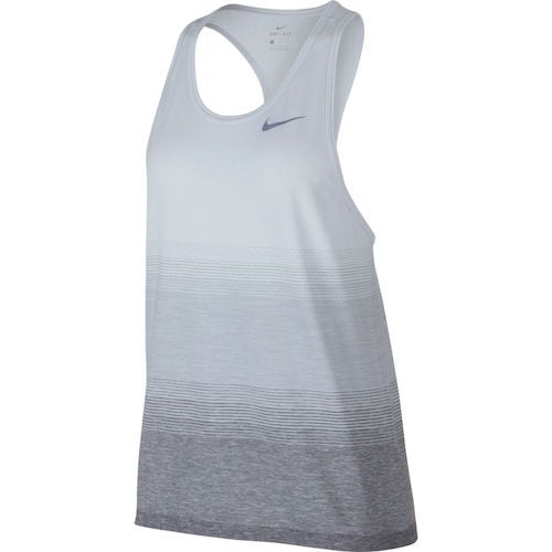 Nike W Dri Fit Tank (Pure Platinum/Wolf Grey/Dark Grey)