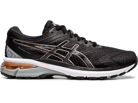 Asics W GT 2000 8 (Wide) (Black/Rose Gold)