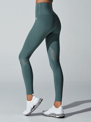 Running Bare Medusa Full Length Tight (Sage)