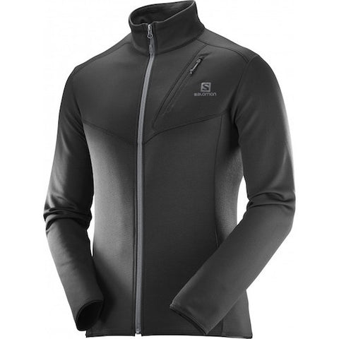 Salomon M Discovery Full Zip Jacket (Black)
